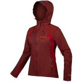 Endura MT500 II Wasserdichte Jacke Damen rot